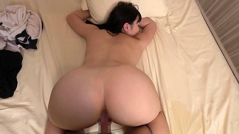 後背位セックスの巨尻