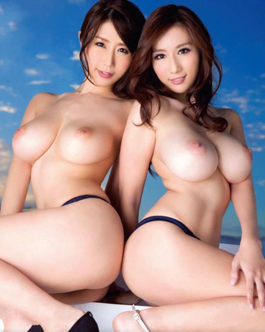 3P願望の二人組み女性