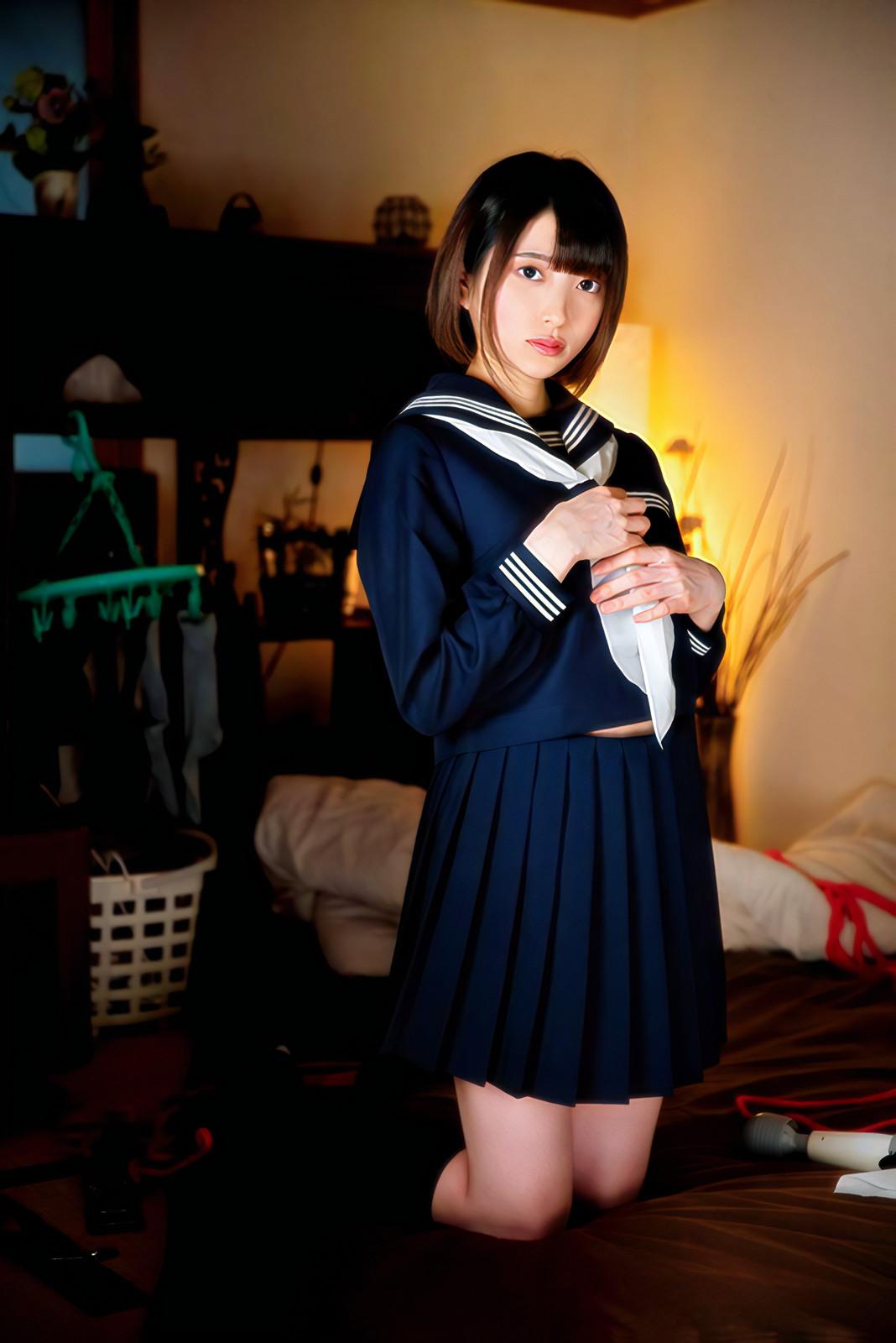 可愛いJKの制服コスプレ
