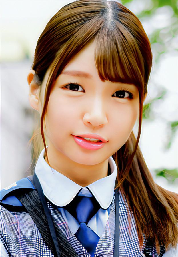 可愛い女の子の顔