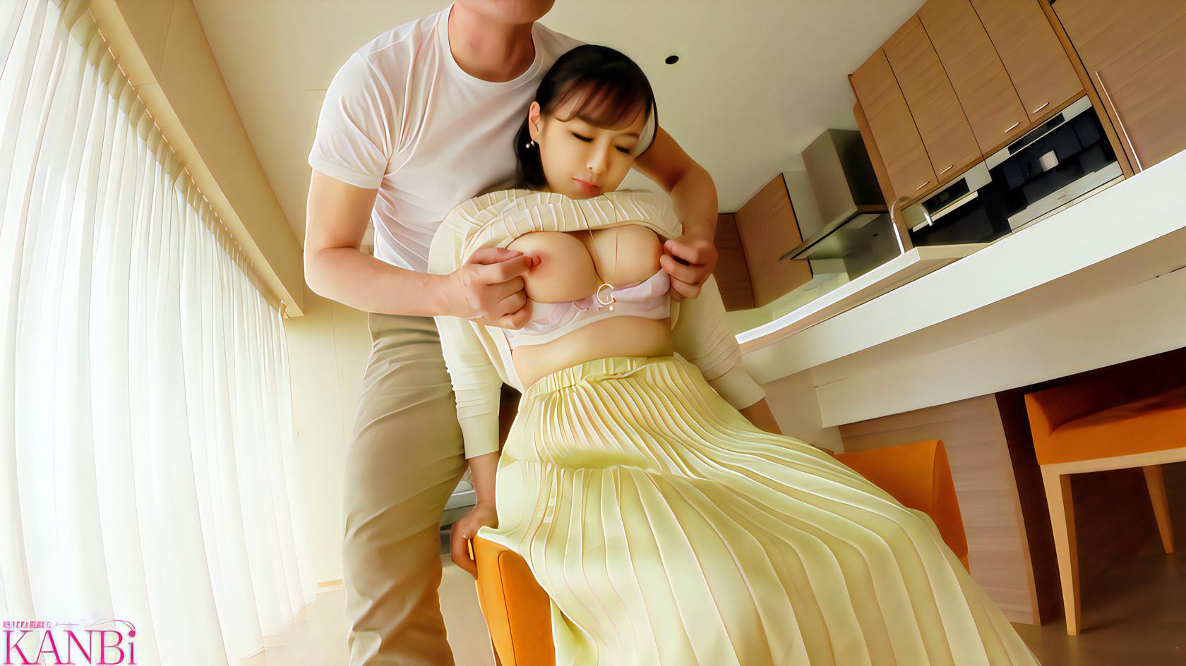 女子の乳首を攻める