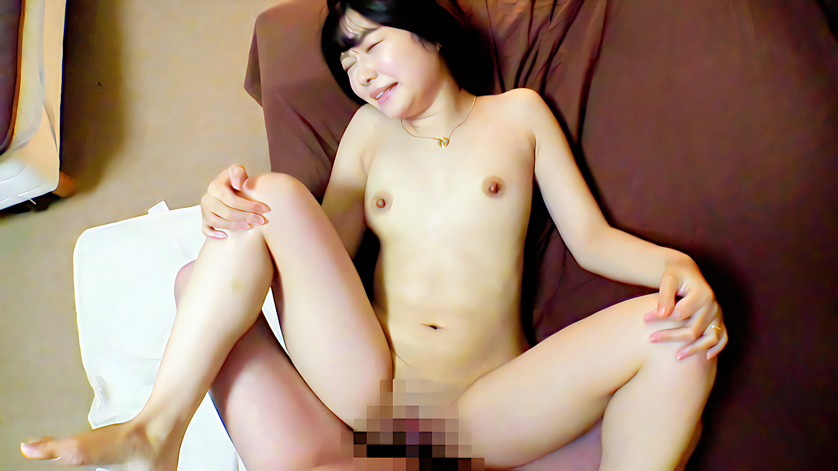 若妻人妻の正常位セックス